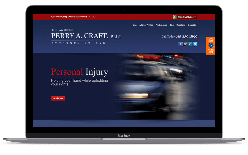 Law Office of Perry A. Craft, PLLC