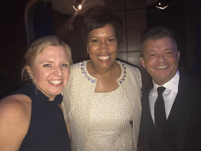 Just hanging with Mayor Muriel Bowser, like you do
